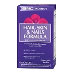 GNC Women's Hair, SKin, & Nails Formula ($16.99, GNC.com)